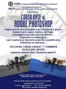 CORSO BASE PHOTOSHOP 2016